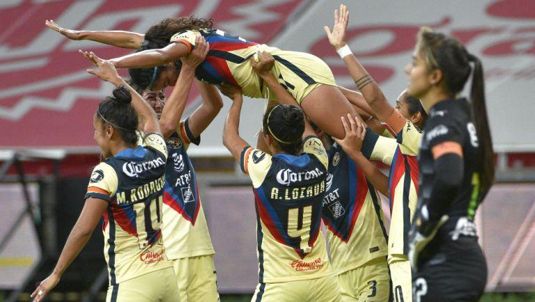 América elimina a Chivas y avanza a semifinales de la Liga MX Femenil