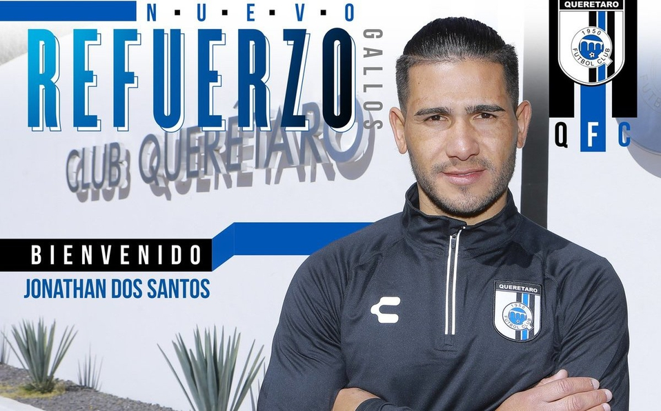 Aclara 'Pity' Altamirno el porque no juega aún el delantero uruguayo Jonathan Dos Santos