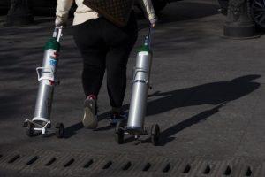 Delincuentes mexicanos aprovechan alta demanda por el oxígeno medicinal