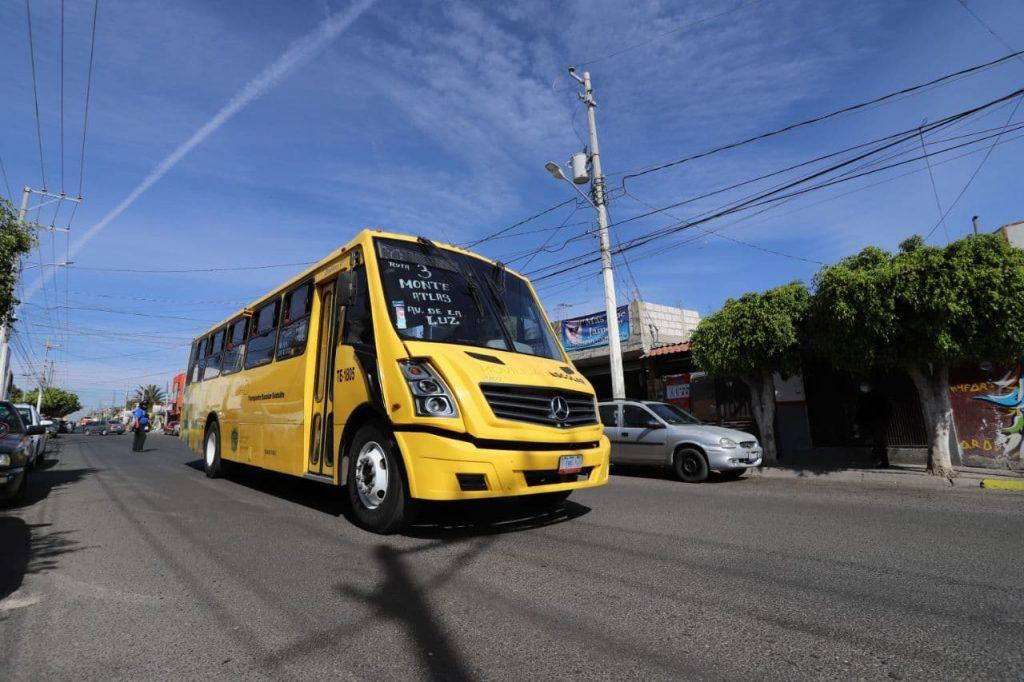 """Implementa Municipio de Querétaro 3 rutas más del programa de transporte gratuito """"Acercándote"""""""