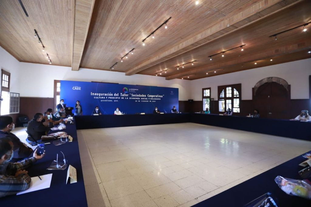 Municipio de Querétaro impulsa la economía local con el taller de Sociedades Cooperativas