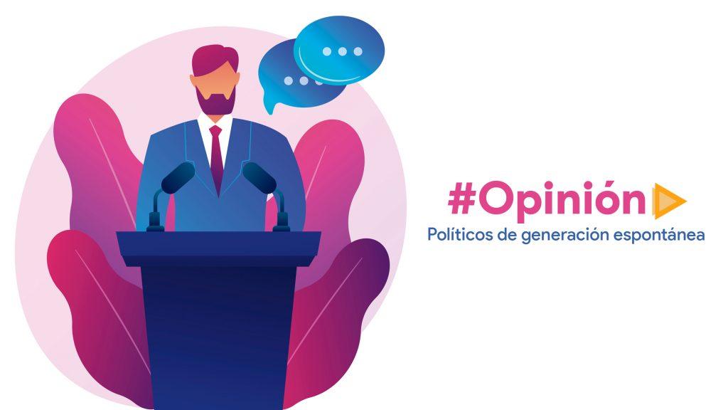 Políticos de generación espontánea