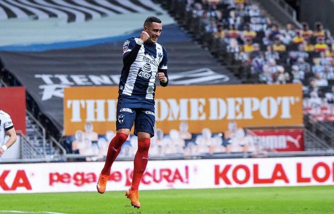 Con golazo de Funes Mori, Rayados derrota 2-1 a Gallos Blancos