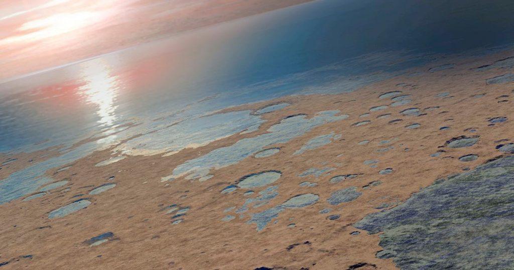 Hace mucho, Marte fue un planeta húmedo y le sorprendería saber a dónde fue el agua