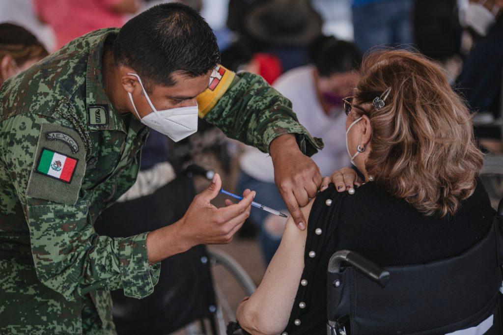 Se realiza la Jornada Nacional de Vacunación en el municipio de Querétaro