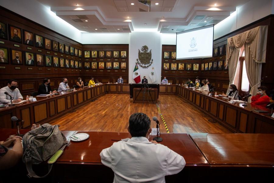 Sesión extraordinaria del Consejo Estatal de Vacunación