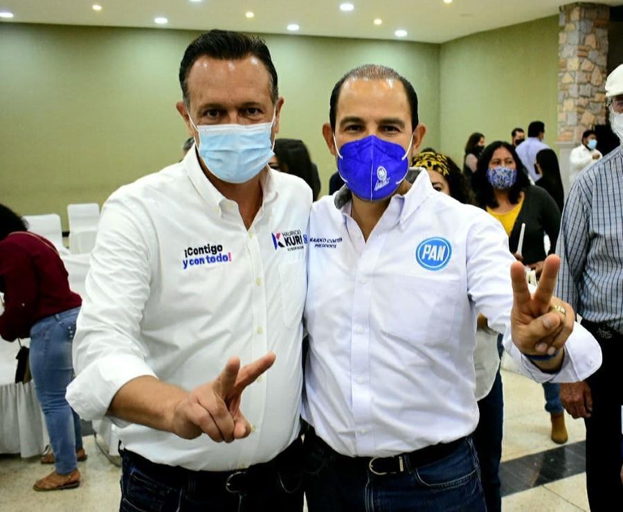 Mauricio Kuri será el mejor gobernador que haya tenido Querétaro: Marko Cortés