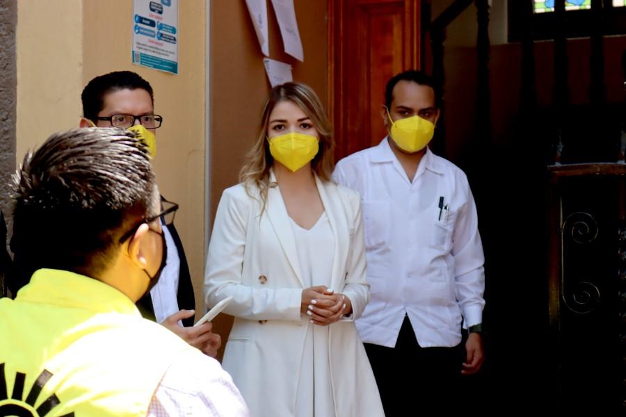Se registró Vanesa Garfias como candidata a la presidencia municipal de Querétaro