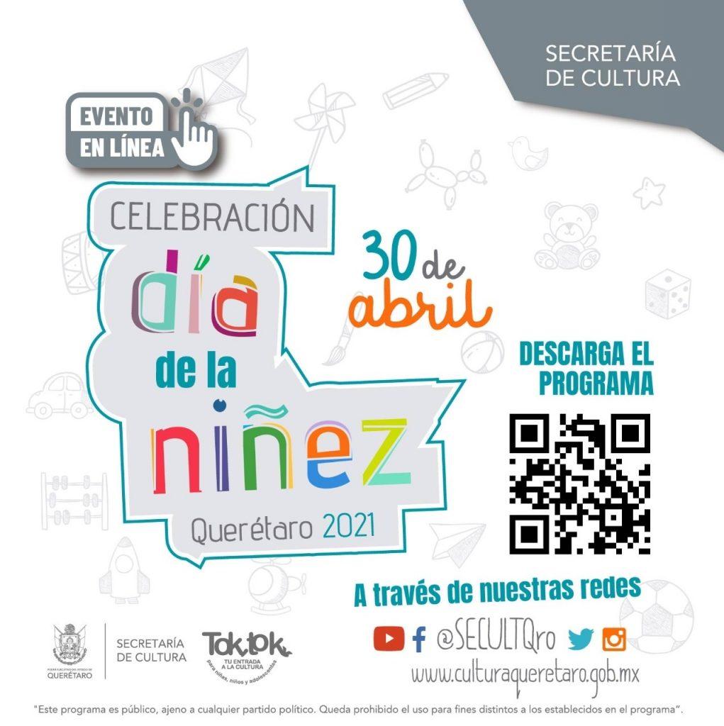 Celebran Día de la niñez Querétaro 2021