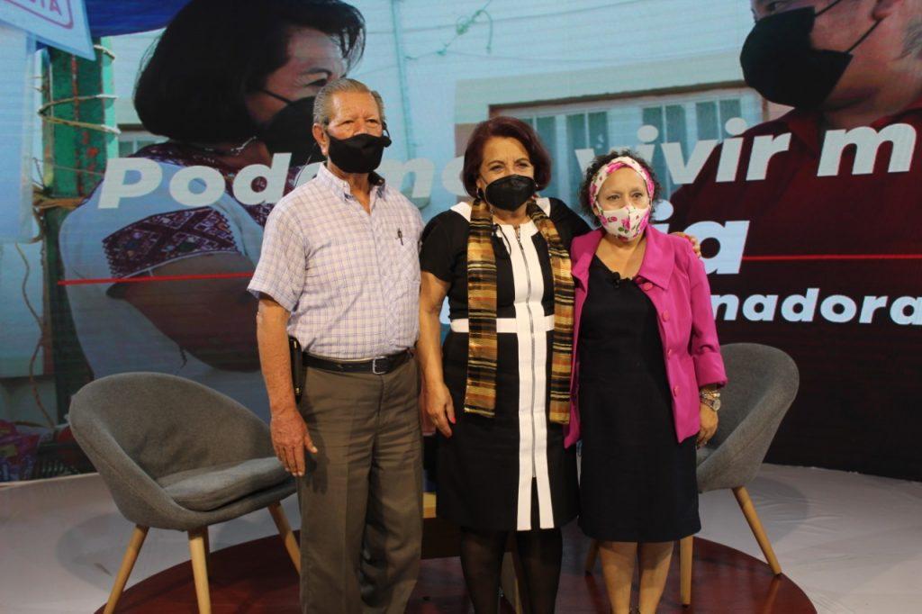"""""""Mejoraremos seguridad, abastecimiento de agua potable y transporte público en Querétaro"""": Celia Maya"""