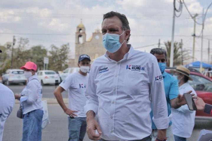 Recorrió Kuri la comunidad de Ajuchitlán en Colón