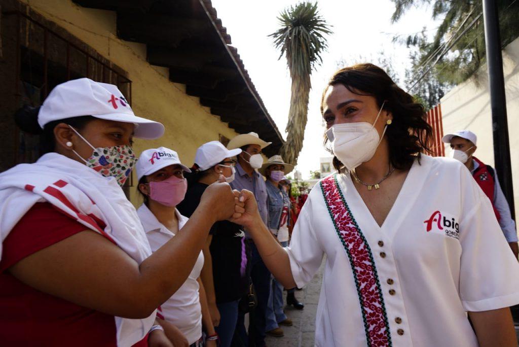 Promete Abi Arredondo fortalecer el proceso de denuncia para mujeres víctimas de violencia