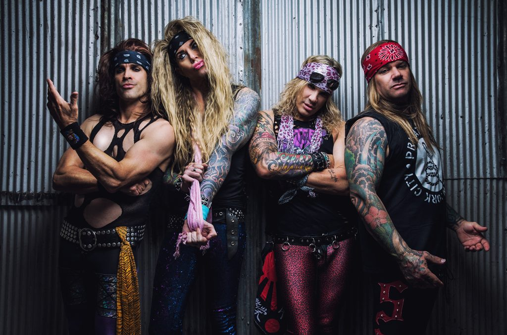 Steel Panther en el estudio