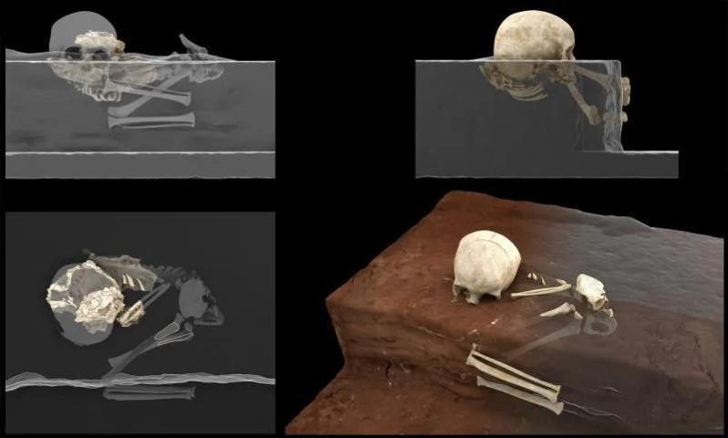 Mtoto, un niño de 3 años, el enterramiento humano más antiguo de África