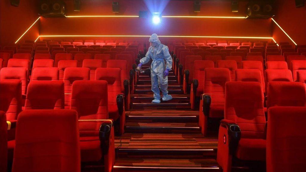 Pérdidas de los cines en México  por la pandemia