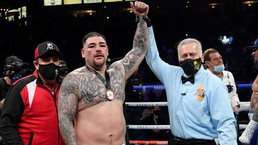 Andy Ruiz pone en alto el boxeo mexicano
