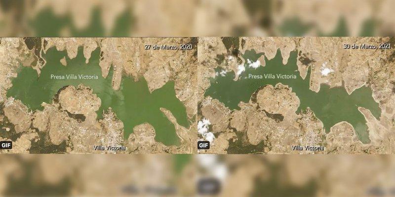 NASA alerta a México de sequías