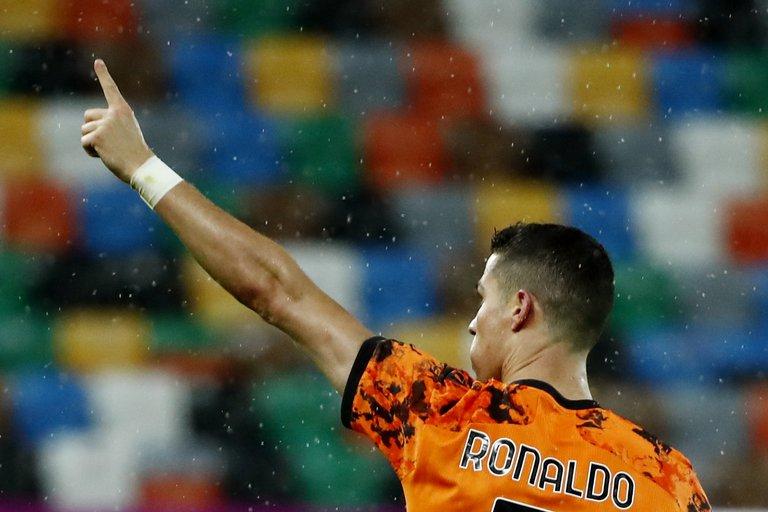 Cristiano Ronaldo salvó a la Juventus de la catástrofe