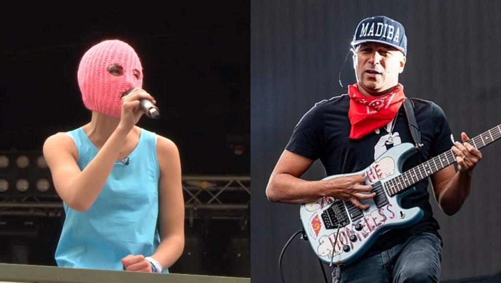 Colaboración de Tom Morello con Pussy Riot