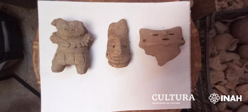 Devuelven piezas prehispánicas a la Zona Arqueológica Soledad de Maciel, en Guerrero