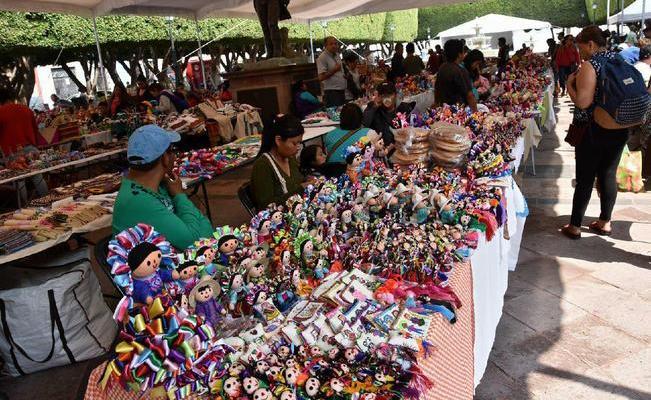 Realizarán Feria Artesanal en el Jardín Guerrero